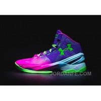 Under Armour Curry Two Northern Lights Sneaker Lastest