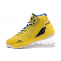 Best Under Armour Curry 3 Yellow Royal Blue New Mens Shoes Authentic