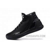 Under Armour Curry Three Black Silver Cheap New Mens Shoes Lastest
