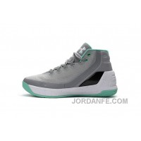 Cheap Under Armour Curry Three Grey Blue New Mens Shoes Free Shipping