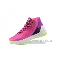 New Under Armour Curry Three Peach White Cheap Mens Shoes Online