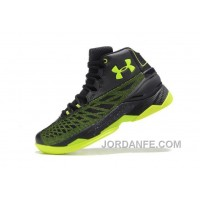 Cheap Under Armour Curry 3.5 Black Green Mens Shoes Discount