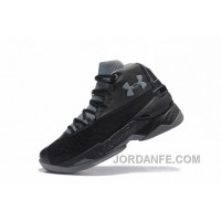 Cheap Under Armour Curry 3.5 Black Grey Mens Shoes Free Shipping