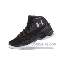 Disocunt Under Armour Curry 3.5 Black Grey Red Mens Shoes Online