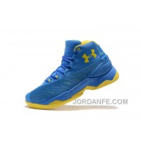Good Under Armour Curry 3.5 Blue Yellow Mens Shoes Online