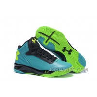 Under Armour Micro G Torch Blue Green Black Sneaker Authentic