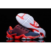 Under Armour Phenom Proto Trainer Red Deep Blue Sneaker Super Deals