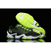 Under Armour Phenom Proto Trainer Black Yellow Sneaker Discount