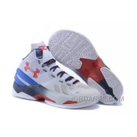 Under Armour Curry 2 Women White Red Sneaker For Sale
