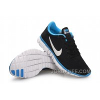 Buy Nike Free 3.0 Women Black Blue White Top Deals
