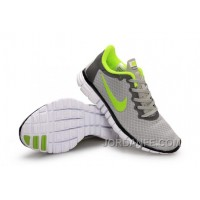 Buy Nike Free 3.0 Women Grey Green New Release