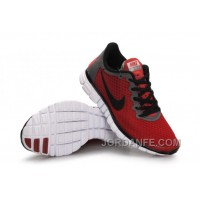 Buy Nike Free 3.0 Women Red Black Super Deals
