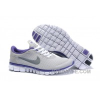 Buy Nike Free 3.0 V2 Women White Purple Super Deals