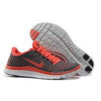 Women Nike Free 3.0 V4 Grey Rose Red New Release