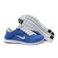 Cheap Nike Free 3.0 V5 Womens Blue Grey White For Sale