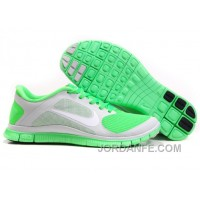 Cheap Nike Free 4.0 V3 Women Pure Platinum White Poison Green Top Deals