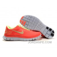 Womens Nike Free 4.0 V2 Watermelon Red Green Authentic