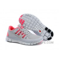 Nike Free 5.0 V2 Grey Pink New Release