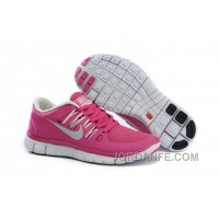 Get Cheap Nike Free 5.0 V2 Rose Red Online
