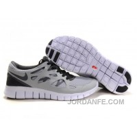 Cheap Nike Free Run 2 Grey And Black For Sale