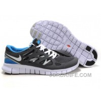 Nike Free Run 2 Grey White Blue Cheap To Buy