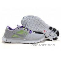 Nike Free Run 3 Light Grey Purple New Release