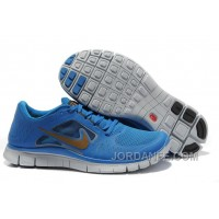 Shop Nike Free Run 3 Blue Gold Lastest