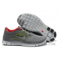 Shop Nike Free Run 3 Grey And Red Cheap To Buy