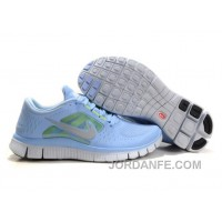 Shop Nike Free Run 3 Light Blue Women Online