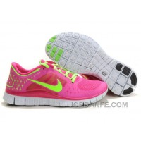 Shop Nike Free Run 3 Pink Green Authentic