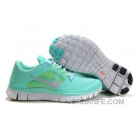 Shop Nike Free Run 3 Water Green Women Super Deals