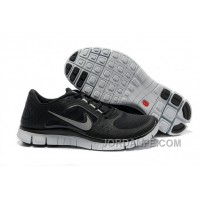 Shop Nike Free Run 3 Womens Black And White Silver Authentic