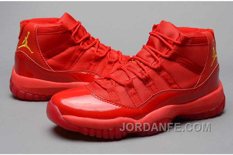 """finest selection 8a139 43e1c Air Jordans 11 Retro """"Red October"""" Red Varsity Maize For Sale New Release"""