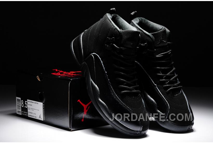 "6b5ae364260 Air Jordans 12 Retro ""OVO"" Black For Sale Online"
