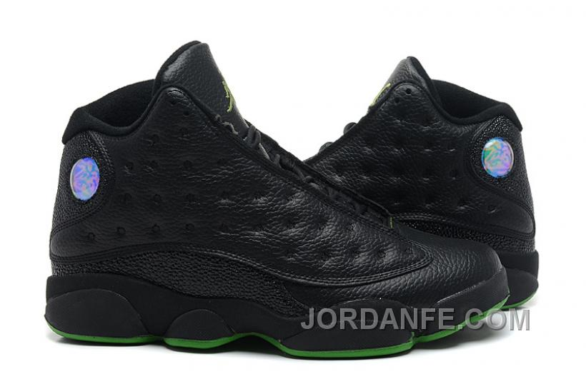 on sale 2dd52 3b53f Air Jordan 13 Retro Black Green Discount