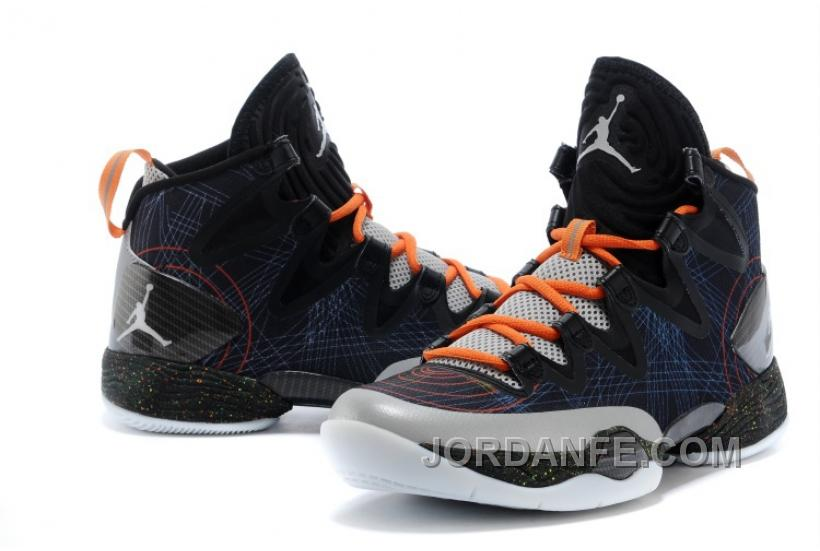 "new arrival 9c6cc 2028a Air Jordans XX8 SE ""Christmas"" Black White-Reflect Silver-Total Orange"