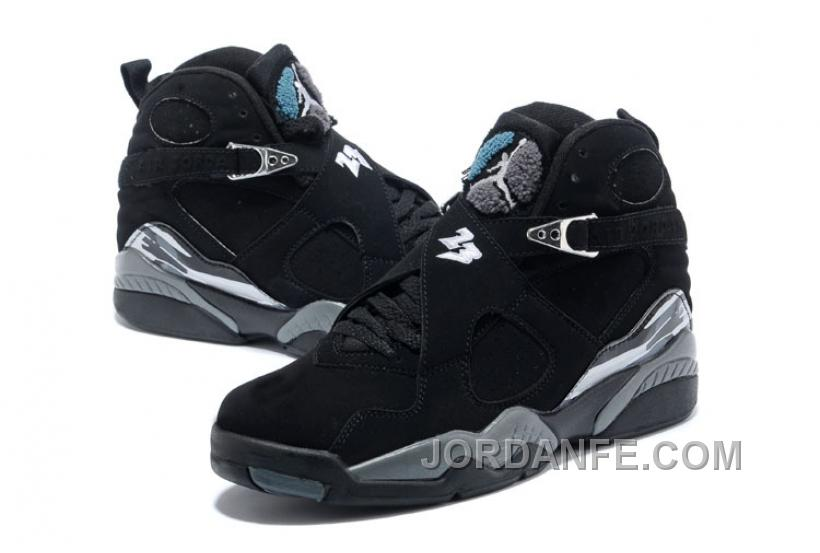 check out a9270 870d7 Air Jordans 8 Retro Black Chrome For Sale New Arrival