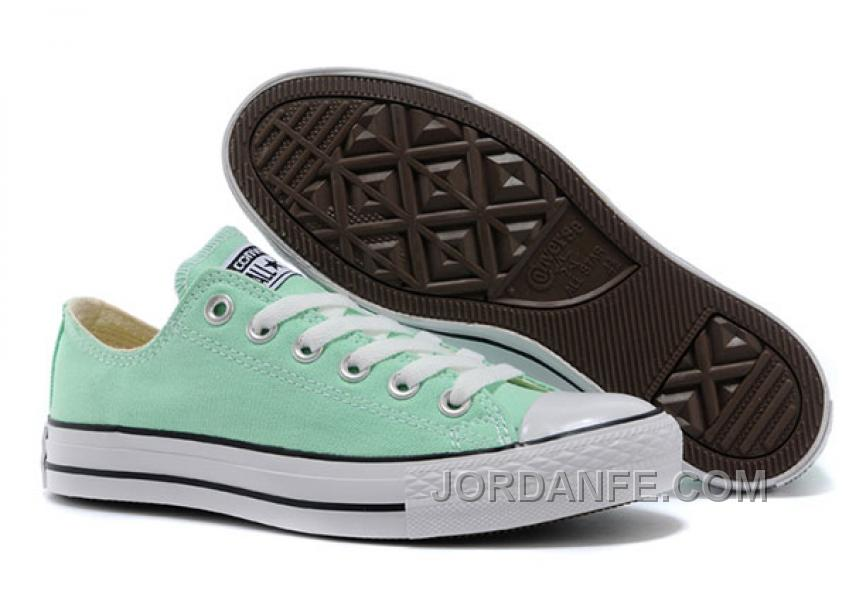 9e4aec06fe63 Chuck Taylor Fresh Colors Peppermint All Star Minty Fresh Hue CONVERSE  Beach Glass Summer Ice Cream
