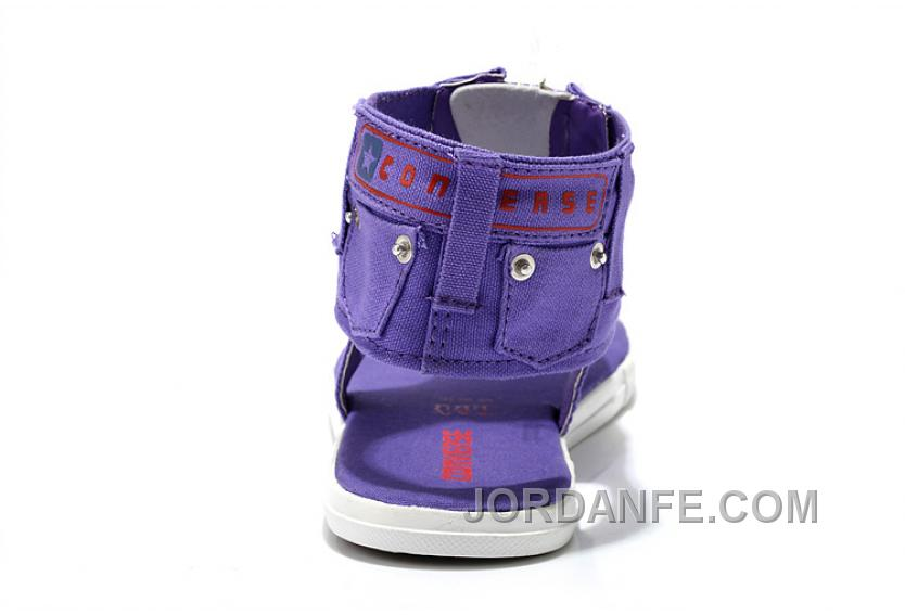 f4c70681a6ba CONVERSE Violet All Star Jeans Thong Women T Sharp Roman Sandals Zip  Authentic