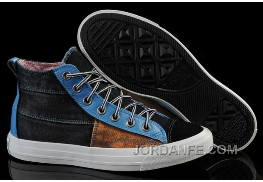 024826165116 The Avengers Iron Man CONVERSE All Star High S Black Brown Blue Tonal  Stitching Canvas Shoes