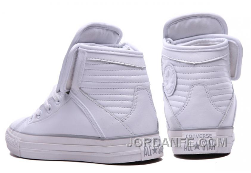 7f75b3aca9e5 White CONVERSE Big Tongue Velcro Winter Leather CT All Star Shoes Top Deals