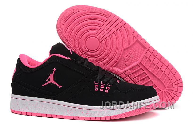 cea0989647f Girls Air Jordan 1 Low Black Pink Shoes For Sale Free Shipping, Price:  $80.87 - Air Jordan Shoes, Michael Jordan Shoes, Jordan Shoes Online