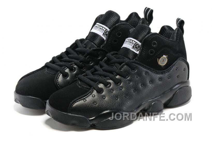 "9c698a5b5a8df9 Jordan Jumpman Team 2 GS ""Raging Bull"" All-Black Discount"