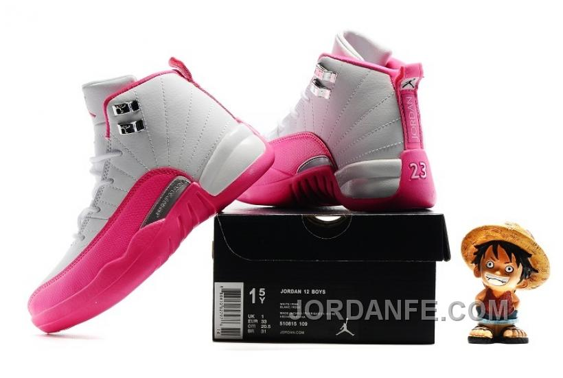 ... valentines day 28c60 68e44  italy kids air jordan 12 vivid pink 2016  for sale new arrival d7194 6117a 56513a5c8