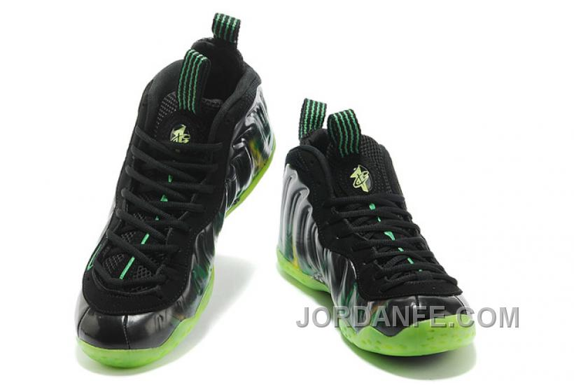"""promo code 9f6dc 536ac Nike Air Foamposite One """"ParaNorman"""" Black Electric Green For Sale New  Arrival"""