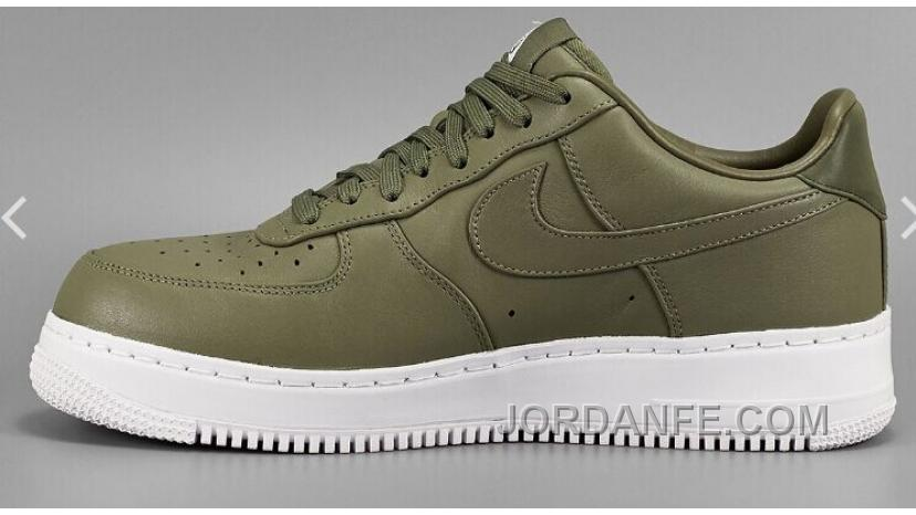 photos officielles 6a7f8 0f281 NIKE LAB AIR FORCE 1 LOW 36-45 Limited Edition Olive Green Sneaker Super  Deals