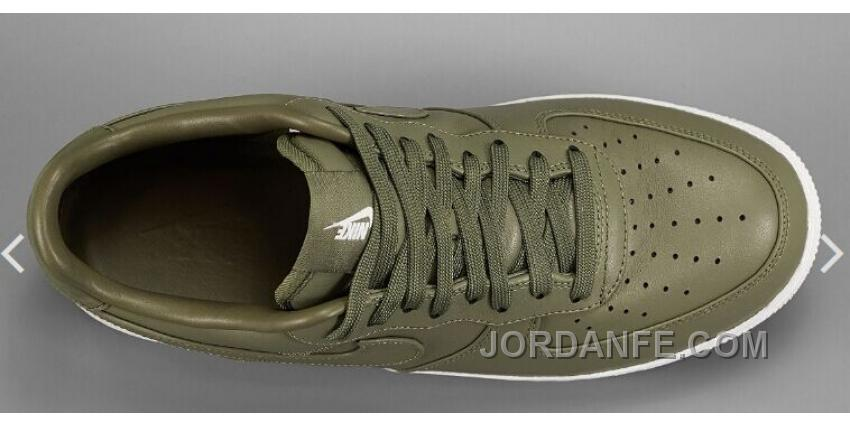 d2a0914932 NIKE LAB AIR FORCE 1 LOW 36-45 Limited Edition Olive Green Sneaker Super  Deals