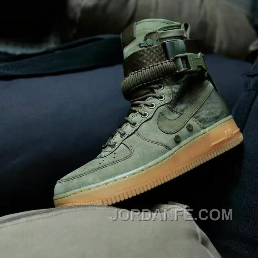hot sale online eb4b7 30c67 Nike Special Forces Air Force 1 Boots Faded Olive Faded 859202-339 Olive  Green Authentic, Price   99.18 - Air Jordan Shoes, Michael Jordan Shoes, ...