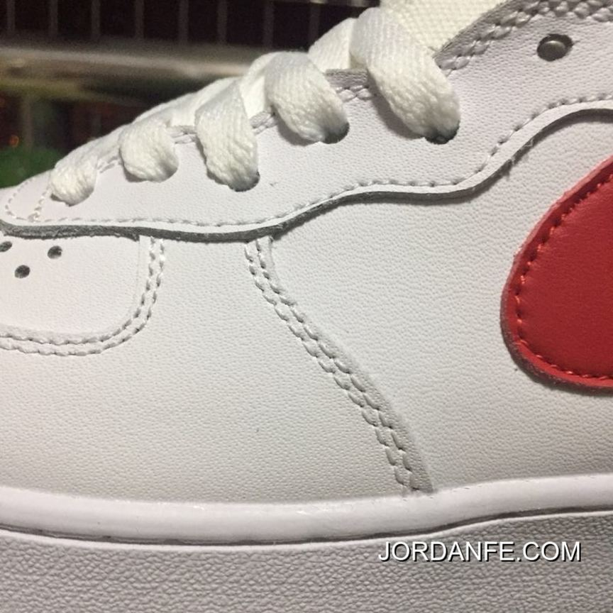 premium selection 70f18 3f46d Nike Air Force 1 Af1 Mid 07 One White Top Sneakers. 315123-126 2018