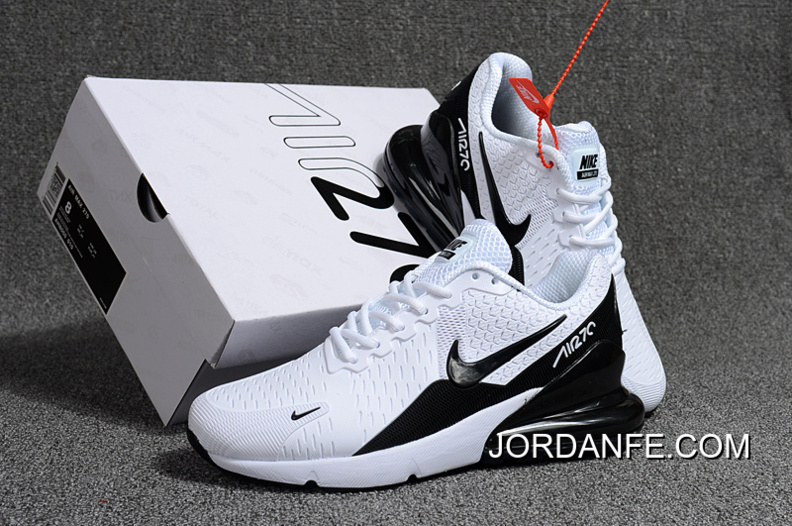 1386595695 2018 Latest Nike Air Max Flair 270 2 Nanotechnology Plastic Zoom White Black
